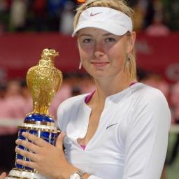 Estrela do tênis Maria Sharapova imagem
