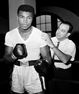 Campeão mundial de boxe Muhammad Ali (Quadro 15)