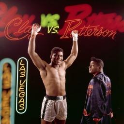 Campeão mundial de boxe Muhammad Ali (Quadro 3)