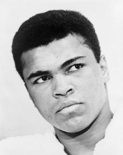 Campeão mundial de boxe Muhammad Ali (Quadro 10)