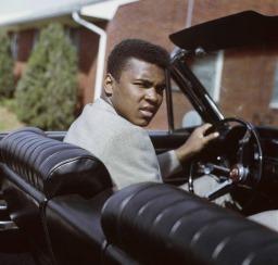 Campeão mundial de boxe Muhammad Ali (Quadro 6)