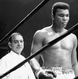 Campeão mundial de boxe Muhammad Ali (Quadro 8)