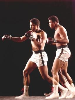 Campeão mundial de boxe Muhammad Ali (Quadro 9)