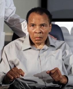Campeão mundial de boxe Muhammad Ali (Quadro 12)
