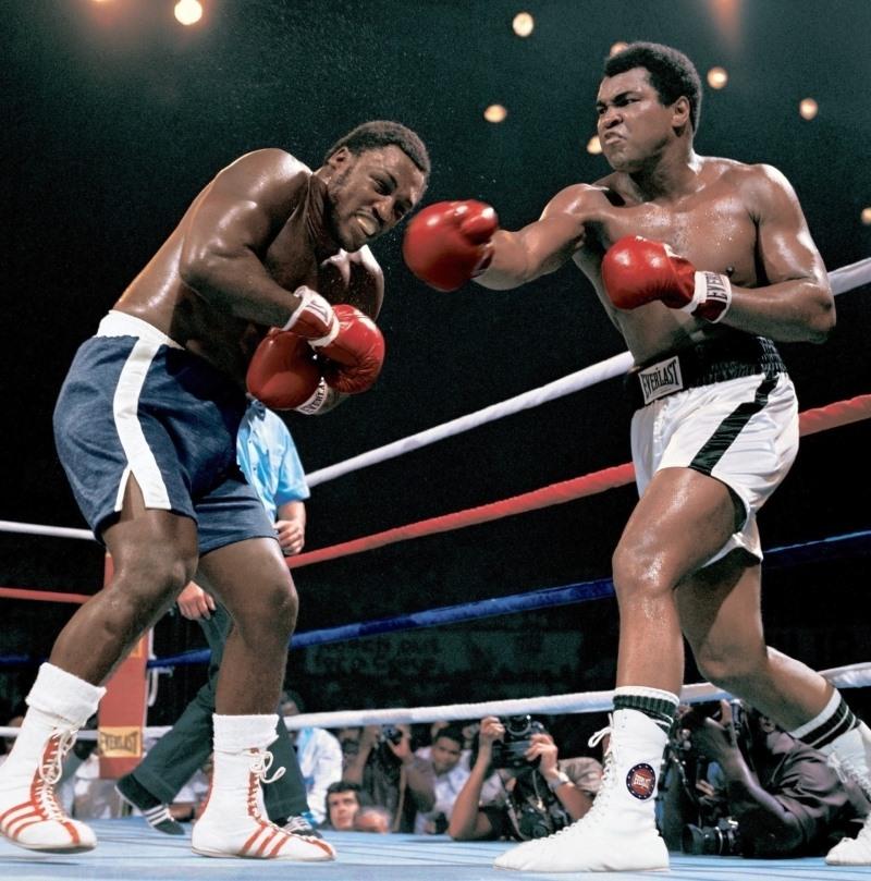 Campeão mundial de boxe Muhammad Ali (Quadro 1)