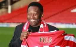 Famoso jogador de futebol Pelé imagem
