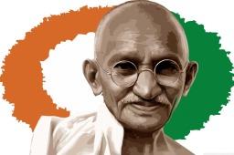 Mohandas Karamchand Gandhi (Quadro 5)
