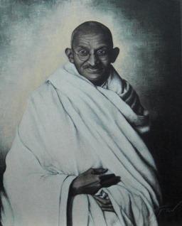 Mohandas Karamchand Gandhi (Quadro 7)
