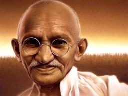 Mohandas Karamchand Gandhi (Quadro 9)
