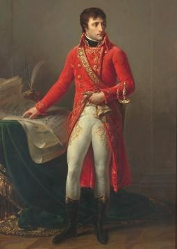 Deus francês da guerra Napoleão Bonaparte