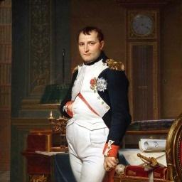 Deus francês da guerra Napoleão Bonaparte imagem