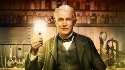 Inventor americano Thomas Edison imagem