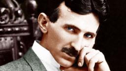 Cientista louco Nikola Tesla imagem